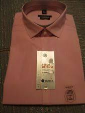 van heusen point straight slim fit dress shirts for men ebay