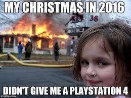 Playstation 4 Meme - disaster girl meme imgflip