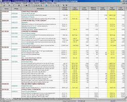 Budget Management Spreadsheet Project Management Spreadsheet Excel Teerve Sheet