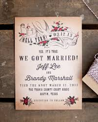 elopement announcements 20 elopement wedding announcements southbound