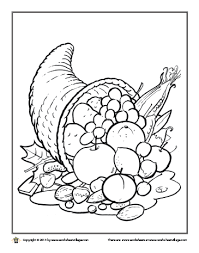 harvest time in the pumpkin patch coloring page