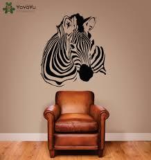 wall stickers zebra stripes