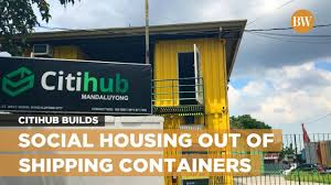 citihub builds social housing out of shipping containers youtube