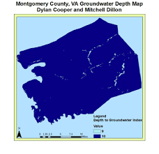 The Location Of The Water Table Is Subject To Change Analysis Maps Drastic Review Of Groundwater Vulnerability In