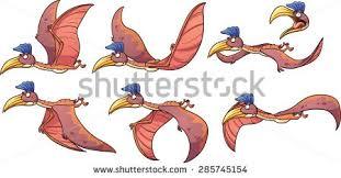 roaring cartoon trex dinosaur vector clip stock vector 371686921