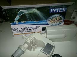 Intex Pool 14x42 Intex Fountain