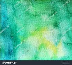 abstract green watercolor background ink illustration stock