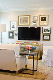 Cheap Way To Finish Basement Walls by Brilliant Solution For Disguising And Hiding A Tv A Vintage Pull