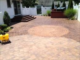 wet look paver sealing by stone creations of long island pavers