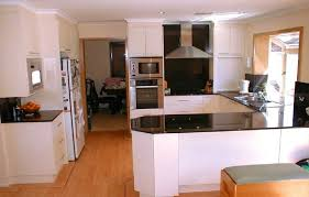 Pictures Of Small Kitchens Makeovers - open small kitchen floor makeover ideas