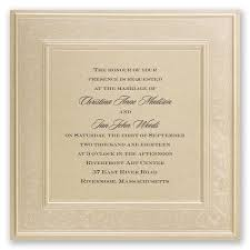 framed in luxury invitation invitations by