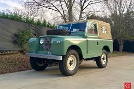 land rover series 1 1961 land rover series ii 88 lhd for sale