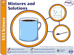 boardworks ks3 science 2008 mixtures and solutions ppt video