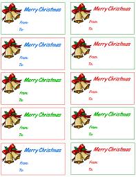 christmas bells gift tags holiday christmas gift tags