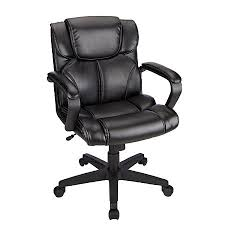 office chair black friday brenton studio briessa mid back vinyl chair black by office depot