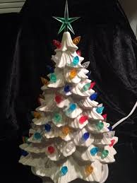 anyone one of these vintage ceramic trees