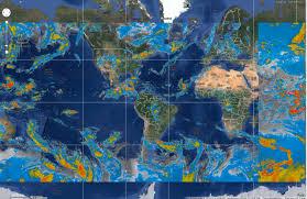 Sattelite World Map by September 11 2013