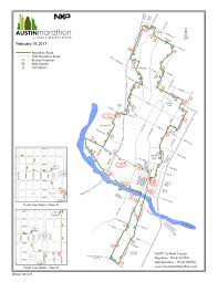 Nyc Marathon Route Map Street Closures For Austin Marathon Including Map Curbed Austin