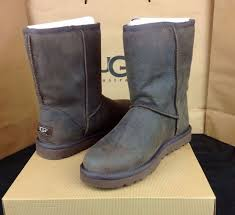 s ugg australia brown leather boots ugg australia womens leather 1005093 brownstone 10