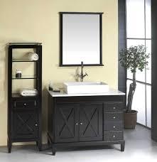 pedestal sink storage bathrooms cabinets bathroom sink with cabinet 45 inch bathroom