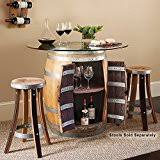 Barrel Bistro Table 28 Wine Barrel Barrel Bistro Table W Wine Bottle And