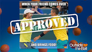 Approved Meme - tennis memes get nick kyrgios approved outside the ball