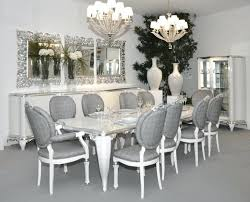 Gloss White Dining Table And Chairs Grey Dining Room Chairs Amazing White Gloss And Oak Arc And Form 4