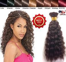 micro crochet hair amazon com hot selling wet n wavy bulk hair top quality
