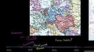 World Map Ww1 World War 1 Map Of Europe Inspiring World Map Design by Closing Stages Of World War I Video Khan Academy