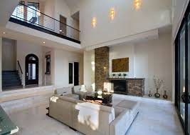 Travertine Fireplace Tile by Living Room With Stone Fireplace U0026 Travertine Tile Floors In