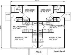 2400 Square Foot House Plans Duplex Design 027m 0009 2nd Floor Plan Square Feet 2400 Total