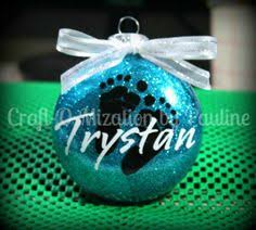 special order ornaments with snowflakes vinyl ornaments