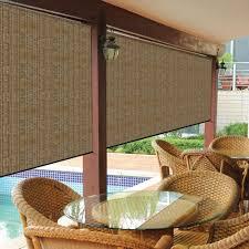 light blocking blinds lowes coolaroo shades 799870454371i blinds lowes exterior roller mocha