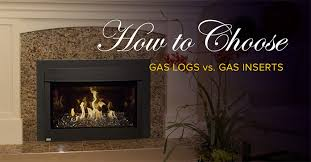 How To Install Gas Logs In Existing Fireplace by Between Gas Logs And A Gas Insert When Updating Your Fireplace