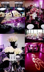Bridal Shower Centerpiece Ideas by Purple And White Wedding Shower Decorating Of Party