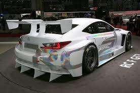 lexus rc f silver 2015 lexus rc350 f sport rc f race car debut in geneva automobile