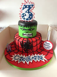 spiderman and hulk cake ideas 30230 hulk and spiderman cak