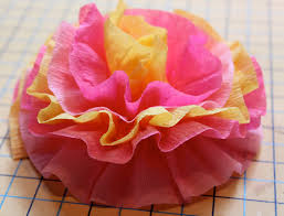 crepe paper flowers crepe paper flowers the cottage