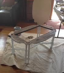 mess to shabby chic coffee table the salvaged boutique