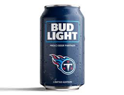 bud light beer can bud light s popular nfl team cans are back with a new minimalist