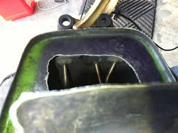 is the tank vent supposed to spew fuel zx forums