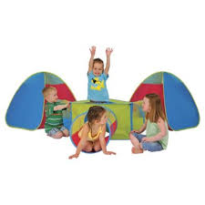 buy tesco 6 in 1 pop up play tent u0026 tunnel set from our toys for
