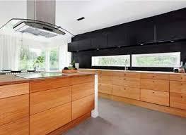 Contemporary Walnut Kitchen Cabinets - white and walnut modern kitchen 204 park norma budden