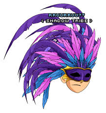 feather mask feather mask aqw