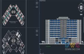 hotel floor plan dwg 5 stars hotel plan projects dwg 5 star hotel architectural plan