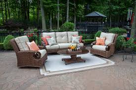 5 patio set the aerin collection 5 all weather wicker patio furniture