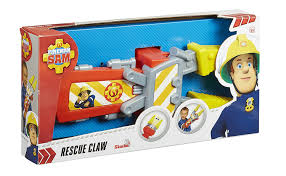 amazon com fireman sam rescue claw amazon exclusive toys u0026 games