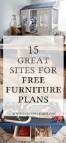 15 awesome sites for free furniture building plans building