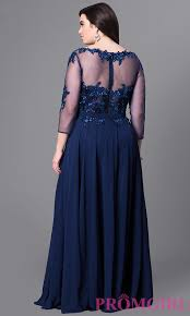 formal plus size lace applique prom dress promgirl