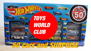 super toys r us wheels 50 pack unboxing by toys world club